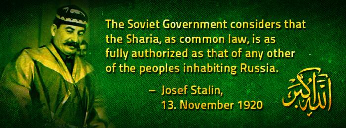Islamic Stalin