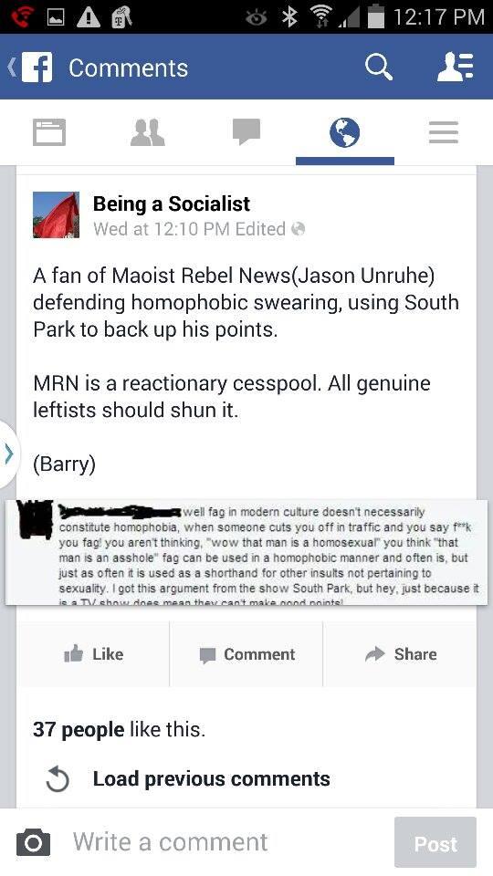 being a socialist lie