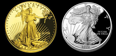 Gold-Silver-Coins