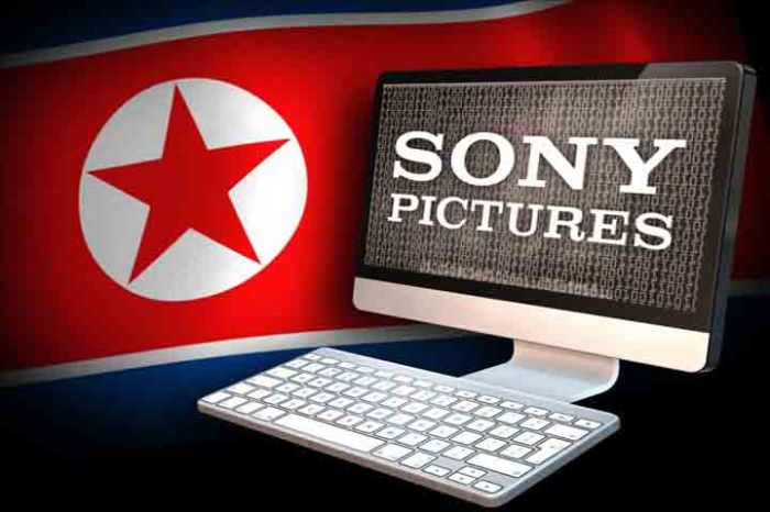 DPRK Flag Sony Computer