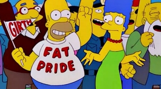 Homer Fat Pride