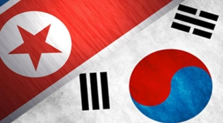 korea north v south