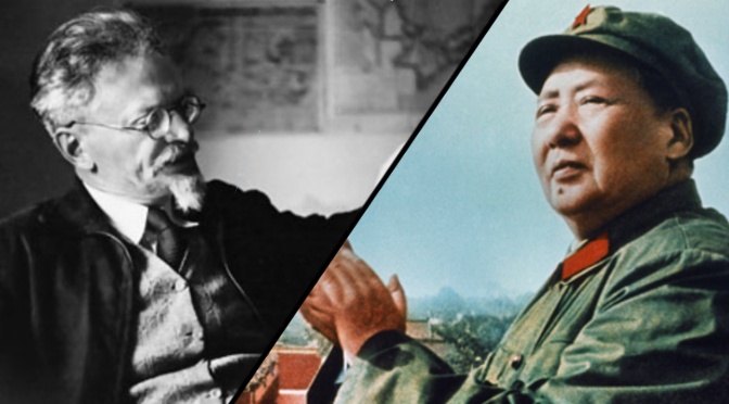 Image result for Maoism or Trotskyism images
